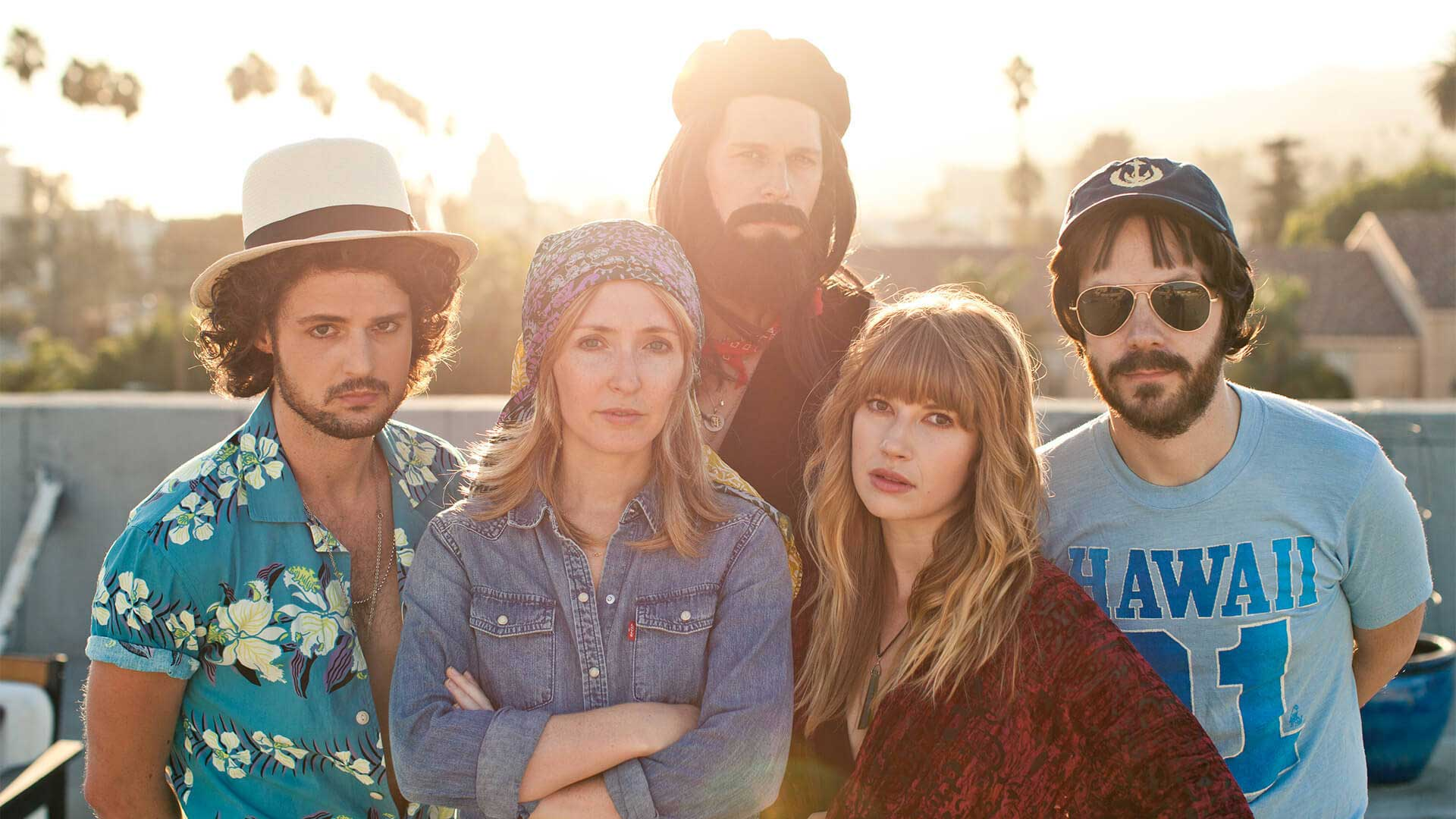 Shown in period attire and spot-on characterizations, RUMORS promise the ultimate Fleetwood Mac tribute at The Paramount.