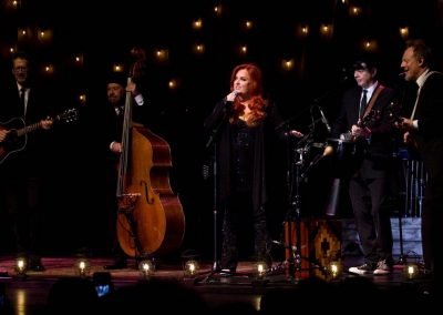 Wynonna Judd and The Big Noise captivated country music fans with a live show in historic Paramount Bristol.