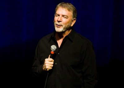Comedian Bill Engvall presented his observational satire at Paramount Bristol in February 2020.