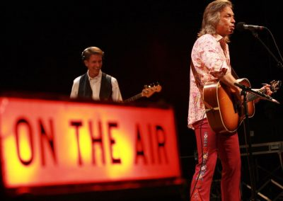 Country, bluegrass and roots artist Jim Lauderdale performs during a live show at Paramount Bristol.