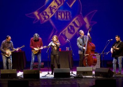Popular bluegrass acts frequent the Paramount stage. Seen here are the Grammy-winning SteelDrivers.