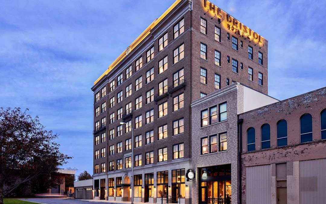 Located just off State Street, the Bristol Hotel was ranked the Number 4 hotel in the U.S. by Travel + Leisure.